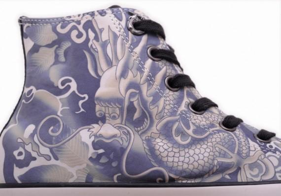 Converse chuck taylor all star leather hi a ox – dragon