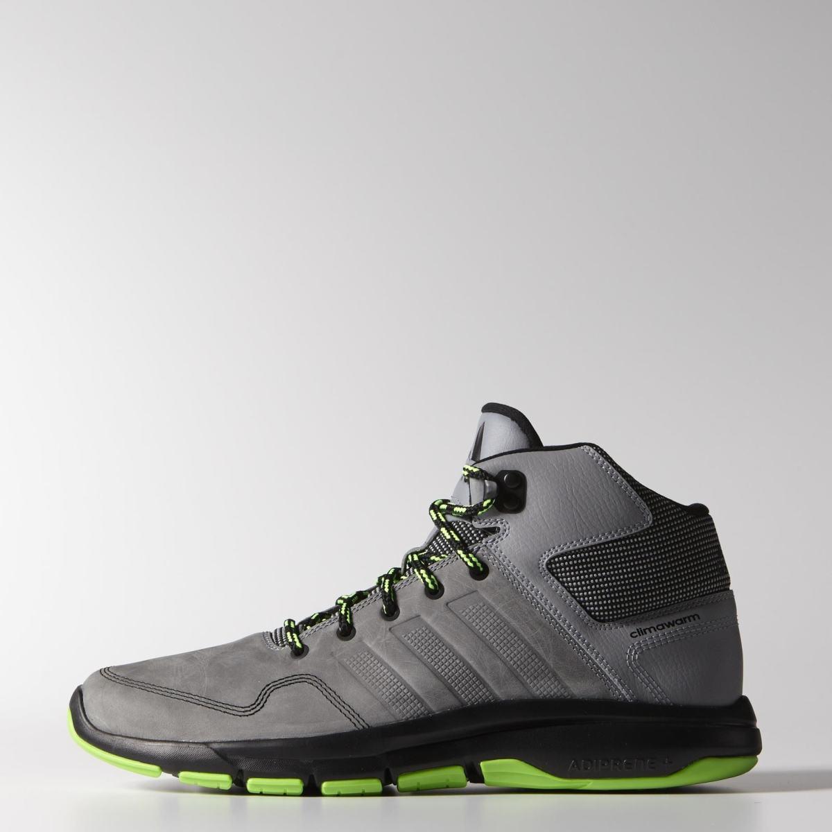 a82ed05b5a Športové mid-top topánky do zimy. Zvršok je zhotovený z kombinácie  syntetickej a pravej kože. Medzipodrážka disponuje odpružením Adiprene+.