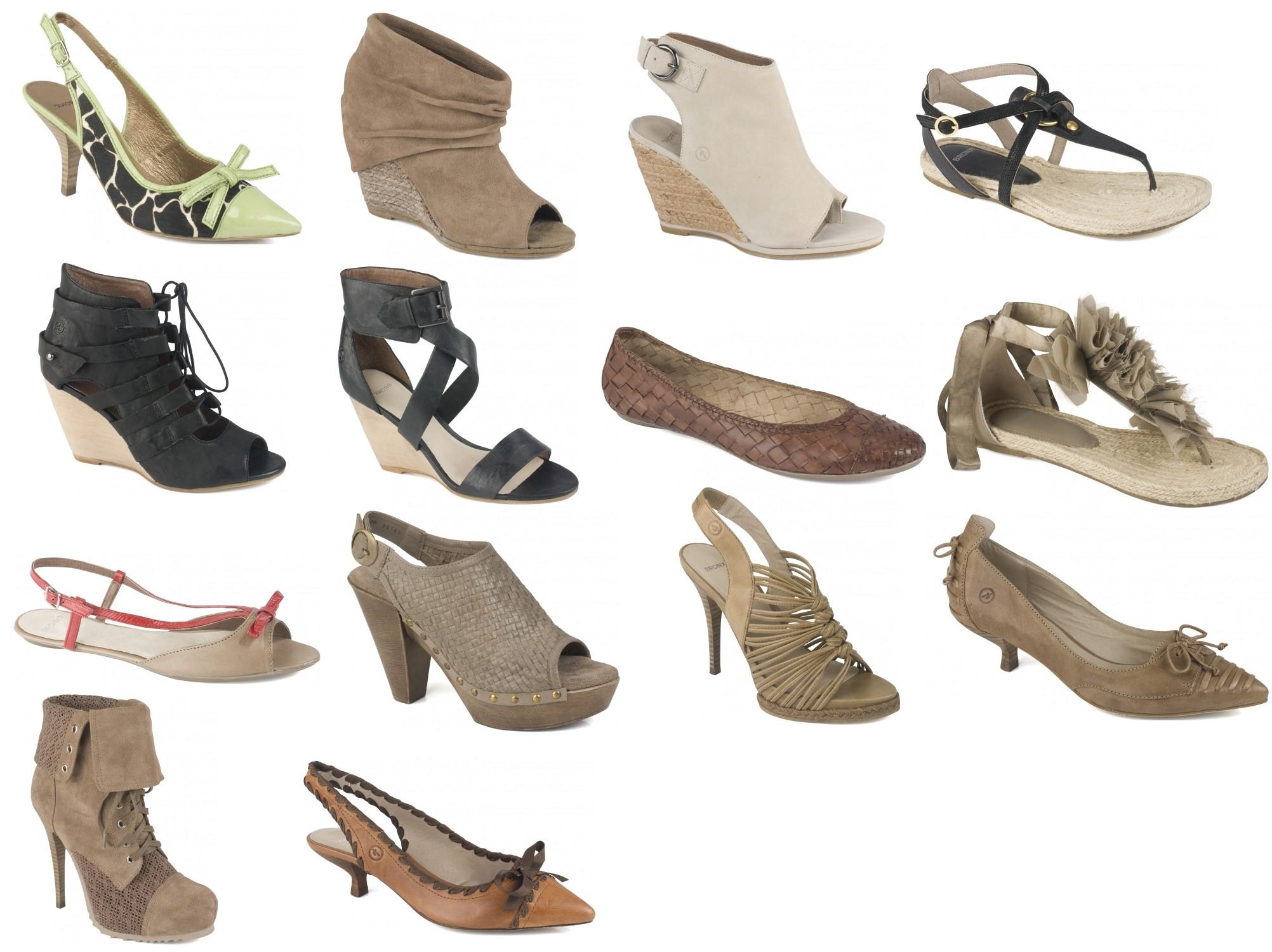 a5d0f39f72f9 Kompletná nová kolekcia dámskej obuvi spoločnosti Bronx jar leto 2011.