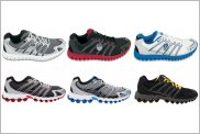 K-Swiss Micro Tubes 100 Fit & Ultra Tubes 100 Fit
