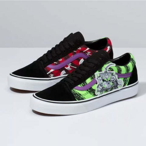 Disney Nightmare Before Christmas x Vans